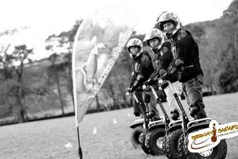 Madrenaline - Segway Safari Obstacle Course Cheshire - Save 56%