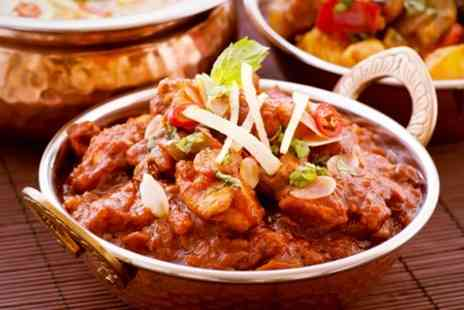 Banks Bistro - Three Course Indian Meal For Two - Save 47%