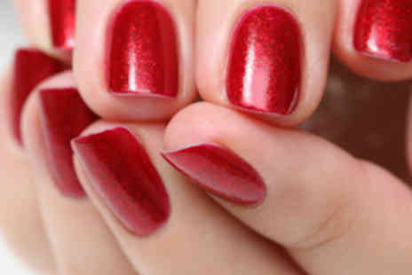 Nails By Zara - Full Set of Acrylic Nails with Manicure - Save 55%