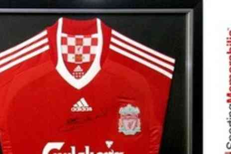 A1 Sporting Memorabilia - Premium Framed Liverpool Shirt Signed By Steven Gerrard - Save 60%