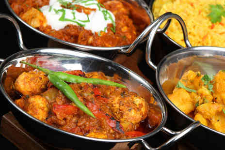 Balti King Sheffield - Indian meal for two - Save 58%