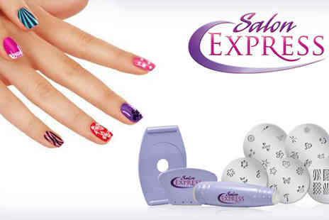 Spicy Decor - Extend stunning Professional Nail Stamp - Save 65%