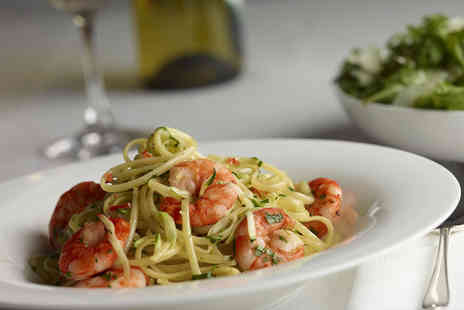 The Godfather Ristorante - Voucher to spend on food for 2 - Save 77%