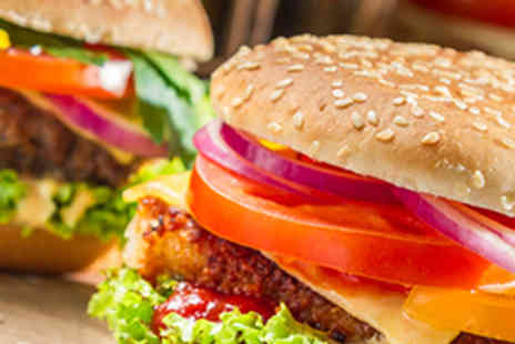 The Swan Hotel - Homemade Burger with Chips and Beer or Wine for Two - Save 51%