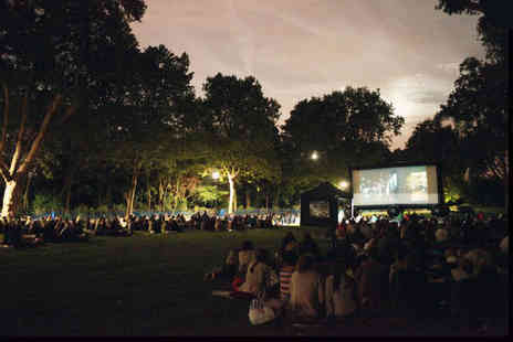Pop Up Screens - A ticket to see one of 30 outdoor cinema showings - Save 50%
