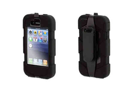 iProtect - Shockproof Case for iPhone 4 R - Save 55%