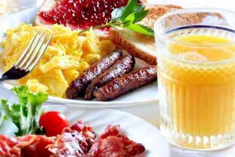 Village Tea Rooms - Super Full English Breakfast For Two - Save 51%