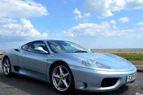 Golden Moments - Ferrari 360 Driving Experience - Save 63%