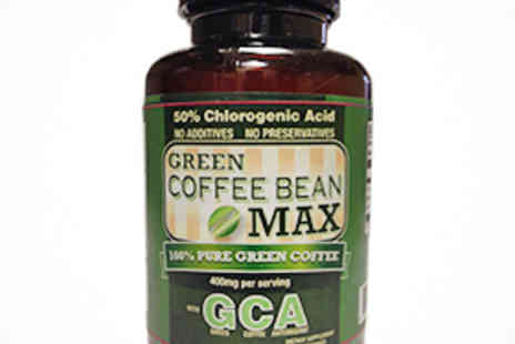 Green Coffee Bean Max - One Bottles of Green Coffee Bean Max Capsules - Save 54%