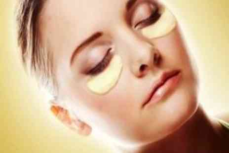 EggSnog -  Two Gold Collagen Eye Masks - Save 92%