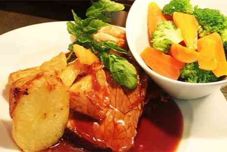 Quindell Dining Spa Golf - Two Course Sunday Roast For Two - Save 47%