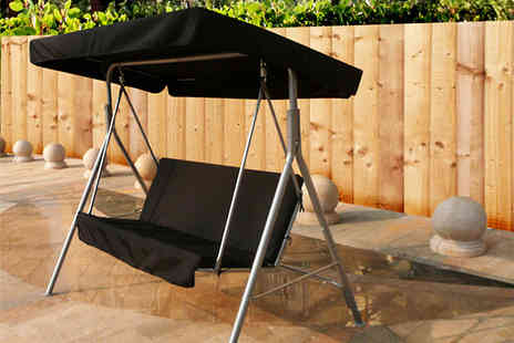 Kingfisher - Deluxe 2 seater swinging garden seat - Save 59%