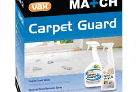 Vax Carpet Guard Kit - Vax Match Carpet Guard Kit Including Spot and Stain Remover and Carpet Guard - Save 73%