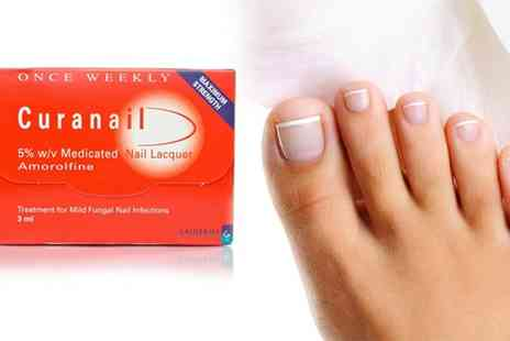 Curanail - Curanail Nail Lacquer Treatment for Fungal Infections - Save 38%