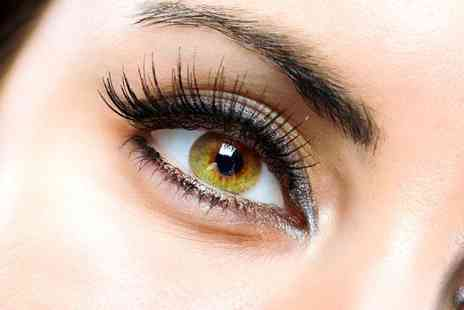 Absolute Nails and Beauty - Full set of eyelash extensions and an ANB eyebrow treatment - Save 42%