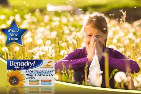 kgbdeals beauty - Benadryl Allergy Liquid Release - Save 60%