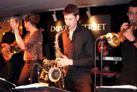 Dover Street - Five course meal and live jazz - Save 57%