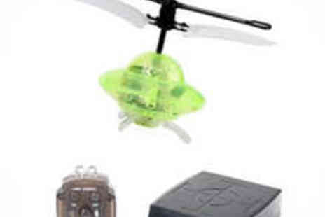 Extreme Fliers - One Miniature Remote Control Flying Saucer - Save 60%