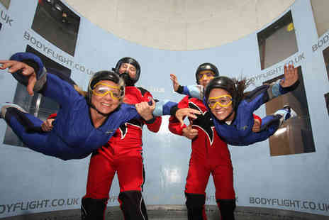 Bodyflight Bedford - Skydiving experience for one - Save 25%