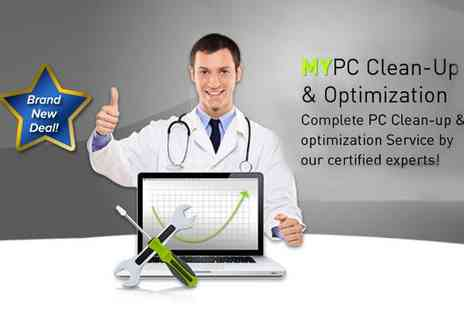 MYSecurityCenter - MYPC Clean Up and Optimization Service - Save 76%