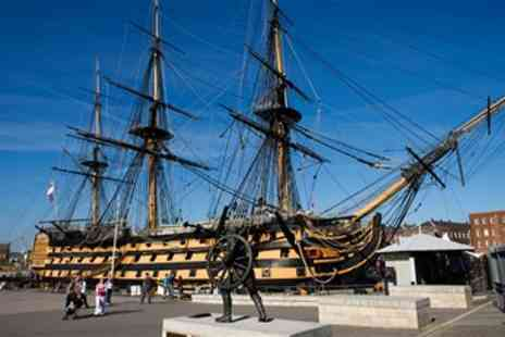 Portsmouth Historic Dockyard - Portsmouth Historic Navy Museum Pass For 2 - Save 63%