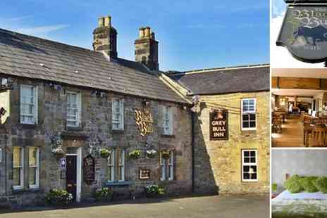 The Black Bull Hotel - One Night Stay for Two - Save 41%