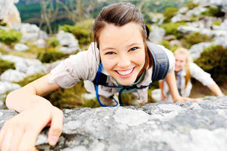 Mountain Monkeys - Two hour rock climbing and abseiling experience - Save 58%