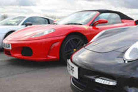VIP UK Experience Days - Silver Supercar Driving Experience - Save 76%