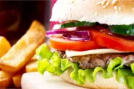 Atlas Cafe Bar - Gourmet burgers sides and drinks for two - Save 52%