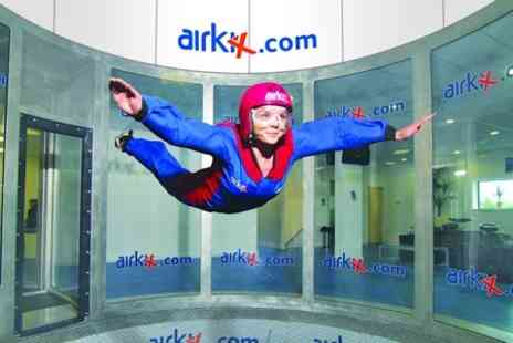 Airkix - Indoor Skydiving Experience With DVD and Digital Photo - Save 63%