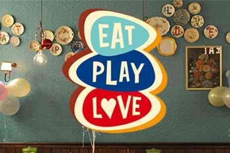 Eat Play Love Cafe - Family Event Party - Save 50%