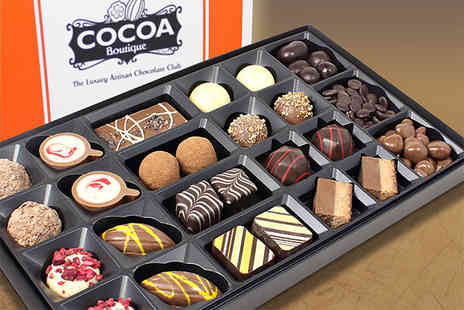 Cocoa Boutique - 300g Luxury Artisan Chocolate Dessert Collection - Save 64%