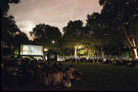 Pop Up Screens - Ticket to see an outdoor cinema showing - Save 50%