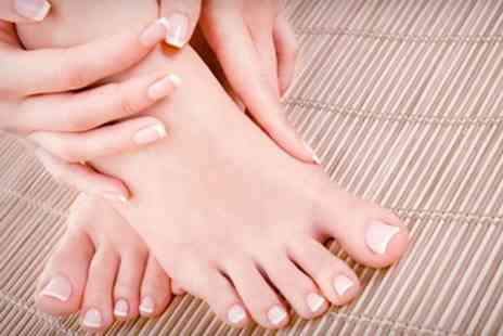 Pedicure Plus - Deluxe Manicure and Pedicure - Save 71%