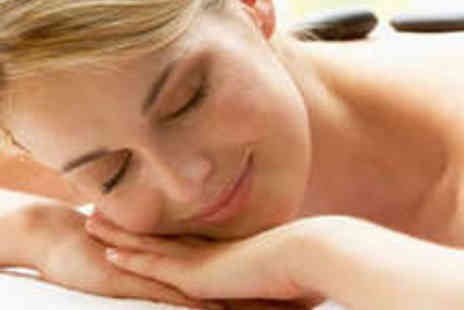 The Beauty Station - Hot Stone Massage Dermalogica Facial - Save 71%