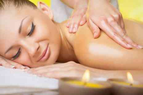 Treat and Revive Spa - Massage and Body Wrap Plus Elemis Facial For One - Save 79%