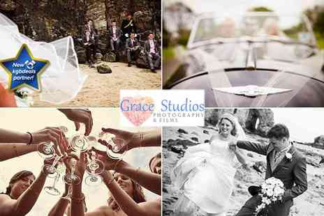 Grace Studios - A wedding photography package - Save 68%