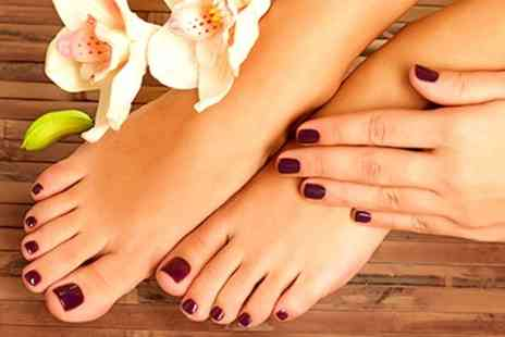 All Your Life - Luxury Manicure Pedicure - Save 59%