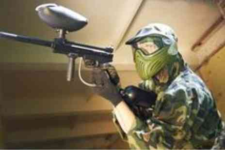 Unreal Paintball - Paintball Staffordshire with 100 Paintballs - Save 82%