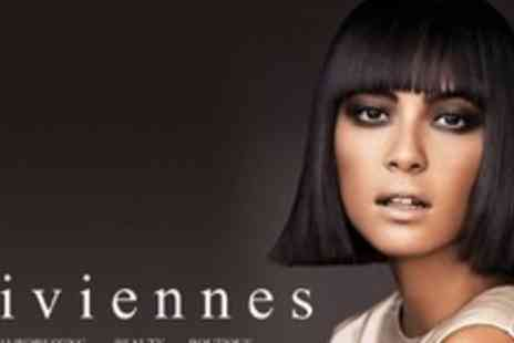 Viviennes - Cut, Finish and Conditioning Treatment With Cocktail - Save 65%