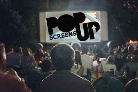 Pop Up Screens - Great Summer Evening In The Park And A Classic Movie To Enjoy - Save 50%