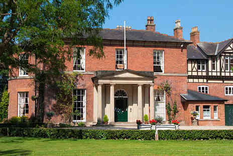 The Old Rectory Hotel - A Warm Welcome and Delicious Dinner in Shropshire - Save 53%