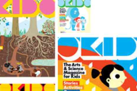 Okido - 50% off Okido Art & Science Childrens Magazine & a copy of Okidoodle - Save 50%