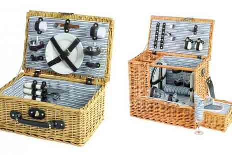 EIC Direct - Scribble two person adult picnic hamper - Save 40%