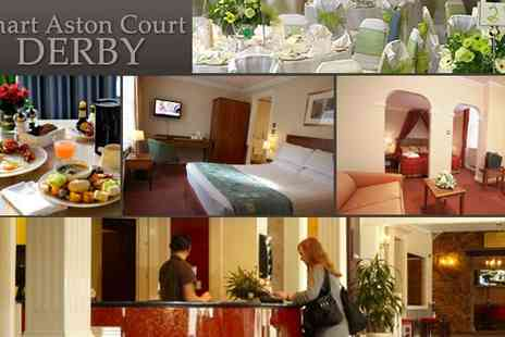 Smart Aston Court Hotel - Two Night City Break in Derby - Save 41%