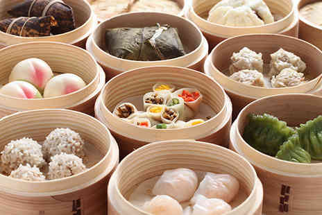 Dim Sum House - Dim sum meal for 2 including dessert & glass of wine - Save 56%