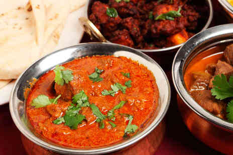 The Raj - One Large Raj Starter Platter Two Mains with Rice - Save 58%