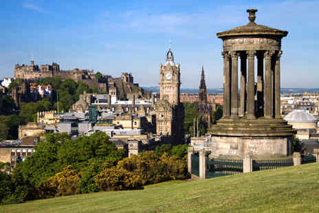 Britannia Hotel Edinburgh - 1Night for 2 including breakfast, wine & late checkout - Save 38%