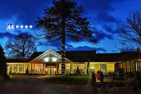 The Bridge Hotel & Spa - Overnight 4star Yorkshire break for 2 including breakfast 5 course meal, bubbly & spa access - Save 42%