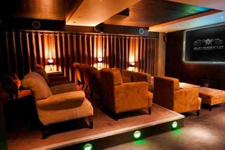 Eight Club Bank - Private Cinema Movie Night For One - Save 33%